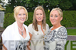 Claire Murphy, Deirdre Sheehy and Irene O'Riordan at a Garden party in aid of the Hospice at Ballygarry house hotel on Sunday were