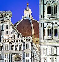 Italy, Tuscany, Florence: Duomo at Night | Italien, Toskana, Florenz: Duomo bei Nacht