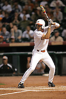 Texas Longhorns OF Jordan Danks during the 2008 season. Photo by Andrew Woolley / Four Seam Images.