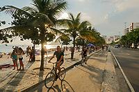 Calçadao e ciclovia, Avenida Vieira Souto, Ipanema, Rio de Janeiro, 2019. Foto Juca Martins