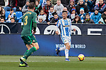 CD Leganes's Oscar Rodriguez during La Liga match between CD Leganes and Real Betis Balompie at Butarque Stadium in Madrid, Spain. February 10, 2019. (ALTERPHOTOS/A. Perez Meca)