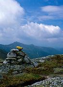 Appalachian Trail - Hiking on Clay Loop trail (Mount Clay) in the beautiful scenic landscape of the Northern Presidential Range, which is  located in the White Mountain National Forest of New Hampshire.