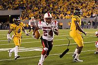 08 November 2007: Louisville running back George Stripling (24)..The West Virginia Mountaineers defeated the Louisville Cardinals 38-31 on November 08, 2007 at Mountaineer Field, Morgantown, West Virginia. .
