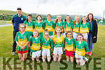 The Castlegregory U13 team taking part in the Sandra Keane Memorial Tournament in the John Mitchels Complex on Saturday