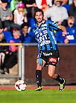 Uppsala 2014-06-26 Fotboll Superettan IK Sirius - IFK V&auml;rnamo :  <br /> Sirius Kerim Mrabti i aktion <br /> (Foto: Kenta J&ouml;nsson) Nyckelord:  Superettan Sirius IKS Studenternas IFK V&auml;rnamo portr&auml;tt portrait