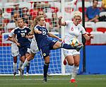 09.06.2019 England v Scotland Women: Erin Cuthbert and Millie Bright