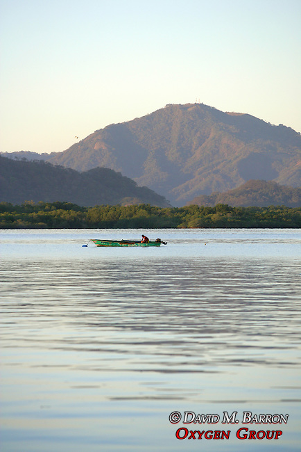 Fisherman On The Gulf Of Nicoya