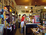 Soda fountain in General Store