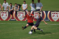 U.S. U-20 Men Intrasquad Scrimmage during day three of the US Soccer Development Academy  Spring Showcase in Sarasota, FL, on May 24, 2009.