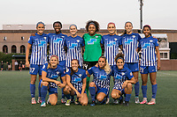 Boston, MA - Wednesday August 16, 2017: Boston Breakers Starting Eleven during a regular season National Women's Soccer League (NWSL) match between the Boston Breakers and the Houston Dash at Jordan Field.