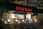 seafood bar at Monterey Bay Aquarium