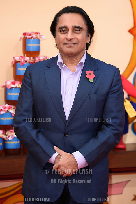 Sanjeev Bhaskar at the &quot;Paddington 2&quot; premiere at the NFT South Bank, London, UK. <br /> 05 November  2017<br /> Picture: Steve Vas/Featureflash/SilverHub 0208 004 5359 sales@silverhubmedia.com