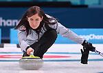 14/02/2018 - Womens curling - Gangneung curling centre - Pyeongchang 2018 winter Olympics - Korea