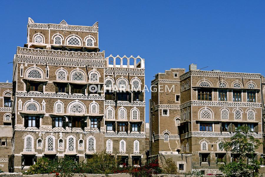Cidade velha de Sanaa capital do Yemen. 2008. Foto de Caio Vilela.