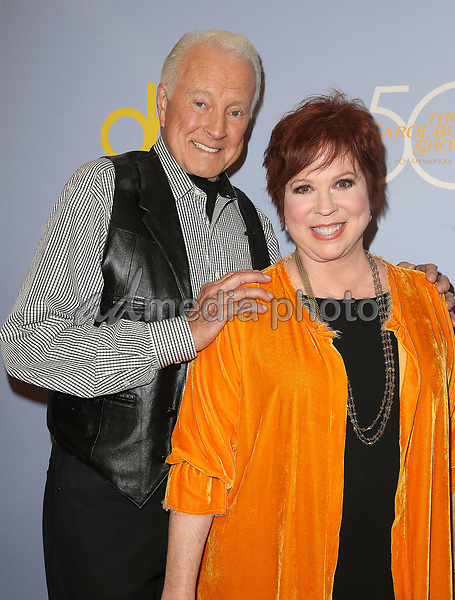 "04 October 2017 - Los Angeles, California - Lyle Waggoner, Vicki Lawrence. CBS ""The Carol Burnett Show 50th Anniversary Special"". Photo Credit: F. Sadou/AdMedia"