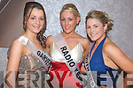 Mary Ellen Donovan, Marie Looby and Lilly MacMonagle contestants at the 2009 Kerry Rose Selection at the Earl of Desmond Hotel on Saturday night.