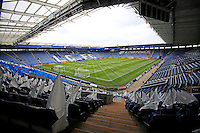 A general ground view before the Barclays Premier League match between Leicester City and Swansea City played at The King Power Stadium, Leicester on April 24th 2016