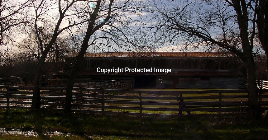Old barn in North Texas