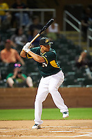 Mesa Solar Sox Yairo Munoz (15), of the Oakland Athletics organization, during the Bowman Hitting Challenge on October 8, 2016 at the Salt River Fields at Talking Stick in Scottsdale, Arizona.  (Mike Janes/Four Seam Images)