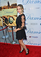 Brec Bassinger at the premiere for &quot;Damsel&quot; at the Arclight Hollywood, Los Angeles, USA 13 June 2018<br /> Picture: Paul Smith/Featureflash/SilverHub 0208 004 5359 sales@silverhubmedia.com