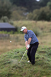 Day one of the Irish PGA championship at Seapoint Golf Club, John Murray, Malahide Golf Club hitting on to the 9th green...Picture Jenny Matthews/Newsfile.ie