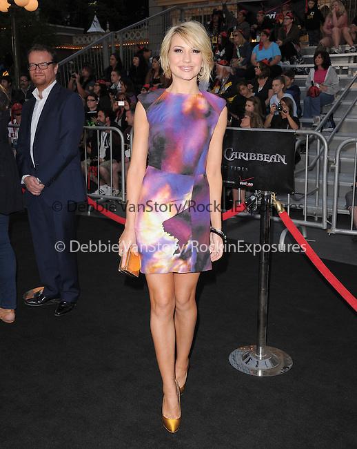 Chelsea Kane at Walt Disney Pictures Premiere of Pirates of the Caribbean : On Stranger Tides held at Disneyland in Anaheim, California on May 07,2011                                                                               © 2010 Hollywood Press Agency