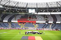 Innenraum der HDI Arena vor dem Spiel Deutschland gegen Nordirland - 11.10.2016: Deutschland vs. Nordirland, HDI Arena Hannover, WM-Qualifikation Spiel 3