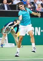 14-02-13, Tennis, Rotterdam, ABNAMROWTT,  Roger Federer