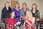 LESIURE: The Brandon Hotel Lesiure centre with staff and members held their Christmas party in the Brandon Hotel Tralee on Saturday night. Front l-r: Andrea McGill and Grace Healy. Back l-r: Nora Nolan, Julianne O'Brien, Ann O'Keeffe and Geraldine Stack..