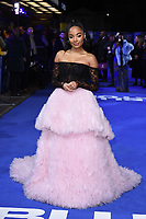 "Karla-Simone Spence<br /> arriving for the ""Blue Story"" premiere at the Curzon Mayfair, London.<br /> <br /> ©Ash Knotek  D3534 14/11/2019"