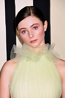 "LOS ANGELES, USA. October 15, 2019: Thomasin McKenzie at the premiere of ""JoJo Rabbit"" at the Hollywood American Legion.<br /> Picture: Paul Smith/Featureflash"