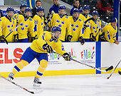 Gabriel Landeskog (Sweden - 14) - Sweden defeated the Czech Republic 4-2 at the Urban Plains Center in Fargo, North Dakota, on Saturday, April 18, 2009, in their final match of the 2009 World Under 18 Championship.