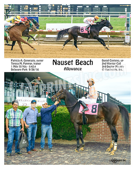 Nauset Beach winning at Delaware Park on 9/26/16