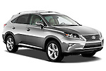 Passenger sider front three quarter view of a 2013 Lexus RX 350 ..