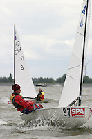 20th SPA Regatta - Medemblik.26-30 May 2004..Copyright free image for editorial use. Please credit Peter Bentley..Merel Witteveen - NED
