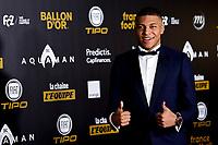 Kylian Mbappe<br /> Parigi 3-12-2018 <br /> Arrivi Cerimonia di premiazione Pallone d'Oro 2018 <br /> Foto JB Autissier/Panoramic/Insidefoto <br /> ITALY ONLY