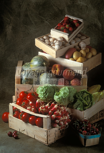 Gastronomie Générale: Fruits et légumes du primeur