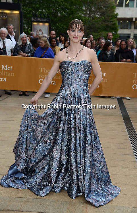 Ashley Bouder attends the American Ballet Theatre's 75th Anniversary Spring Gala on May 18, 2015 at the Metropolitan Opera House in New York, New York, USA.<br /> <br /> photo by Robin Platzer/Twin Images<br />  <br /> phone number 212-935-0770