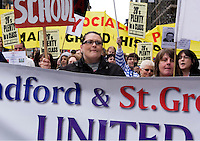 03/05/09 Save our Schools protest