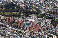 aerial photograph San Francisco General Hospital, San Francisco, California