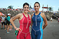 Triatlón Sports World Veracruz 2013- Paulina Vallejo, Ivy Rosales. ©NortePhoto.com ..<br /> YahirCeballos/NortePhoto
