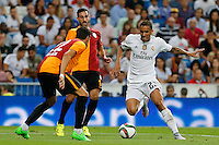 Real Madrid's Brazilian defense Danilo