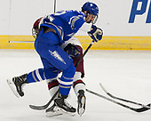 Luke Esposito (Harvard - 9), Pierce Pluemer (AFA - 22) - The Harvard University Crimson defeated the Air Force Academy Falcons 3-2 in the NCAA East Regional final on Saturday, March 25, 2017, at the Dunkin' Donuts Center in Providence, Rhode Island.