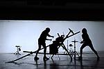 HONRION<br /> <br /> Distribution<br /> Conception et chor&eacute;graphie : Malika Djardi<br /> Interpr&eacute;tation : Nestor Garcia Diaz et Malika Djardi<br /> Assistants &agrave; la composition musicale : Nicolas Taite et Thomas Turine<br /> Technique son : Beno&icirc;t Pel&eacute;<br /> R&eacute;gie son : Cl&eacute;ment Vercelletto<br /> Cr&eacute;ation lumi&egrave;re : Yves Godin<br /> La Bourette : assistant &agrave; la cr&eacute;ation et confections des protections et ceintures / Ateliers de couture du Th&eacute;&acirc;tre de Li&egrave;ge : bodies, tutu et gants / Marie- Colin Madan : masques et finitions / Nodd Architecture : sabots<br /> Sc&eacute;nographie : LFA Looking For<br /> Conseils &agrave; la dramaturgie : Youness Anzane<br /> Compagnie :<br /> Cadre : Festival Etrange Cargo <br /> Date : 01/04/2017<br /> Lieu : La M&eacute;nagerie de Verre<br /> Ville : Paris<br /> &copy; Laurent Paillier / photosdedanse.com