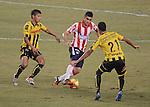 Barranquilla- Alianza Petrolera derrotó 1 por 0 al Atlético Junior, en el partido correspondiente a la octava fecha del Torneo Clausura 2014, desarrollado el 7 de septiembre, en el estadio Metropolitano Roberto Meléndez.