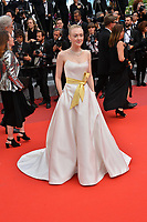 "CANNES, FRANCE. May 21, 2019: Dakota Fanning at the gala premiere for ""Once Upon a Time in Hollywood"" at the Festival de Cannes.<br /> Picture: Paul Smith / Featureflash"