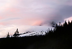Sunset on Mount Hood