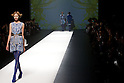 "October 18, 2012, Tokyo, Japan - A model walks down the catwalk wearing ""SOMARTA"" during the Mercedes-Benz Fashion Week Tokyo 2013 Spring/Summer. Fashion week in Tokyo runs from October 13-20. (Photo by Christopher Jue/Nippon News)"