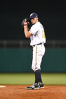 Montgomery Biscuits pitcher Andrew Bellatti (17) gets ready to deliver a pitch during a game against the Mississippi Braves on April 21, 2014 at Riverwalk Stadium in Montgomery, Alabama.  Montgomery defeated Mississippi 6-2.  (Mike Janes/Four Seam Images)