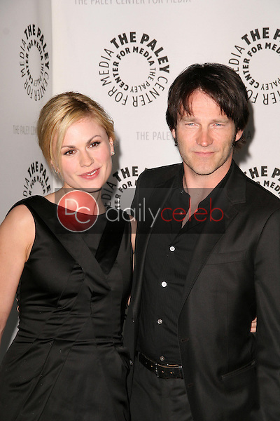 Anna Paquin and Steven Moyer<br />at 'True Blood' presented by the Twenty-Sixth Annual William S. Paley Television Festival. Arclight Cinerama Dome, Hollywood, CA. 04-13-09<br />Dave Edwards/DailyCeleb.com 818-249-4998